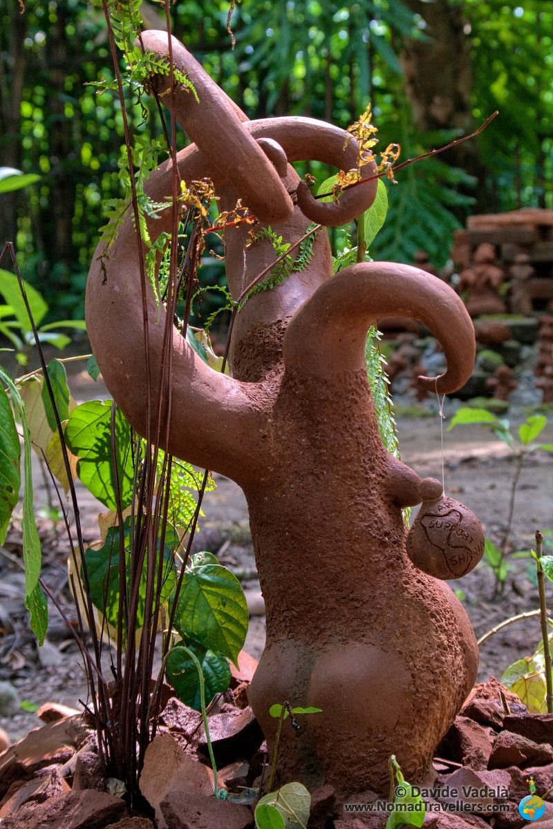 Back view of my Terracotta sculpture