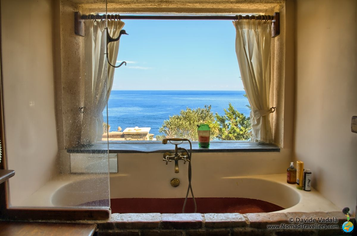 Stunning View From One Of The Bathrooms In Delenia