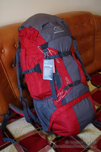 0a6fa160ff2 Travel Backpack: Highlander Discovery 85 liter review - Nomad Travellers