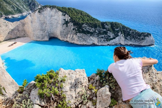 Navagio beach in Greece: best free location to see the shipwreck in Zakynthos island