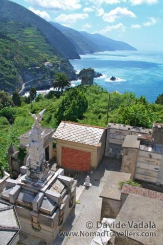 View from the cemetery of Monterosso al Mare