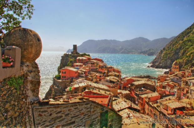 HDR view of Vernazza