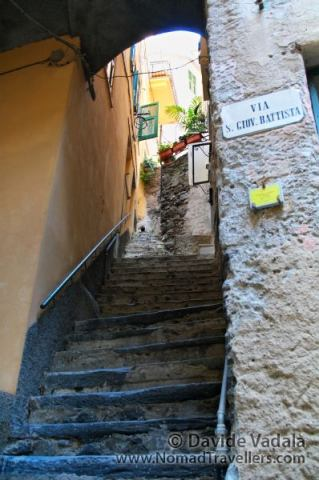 Steep stairs in Vernazza