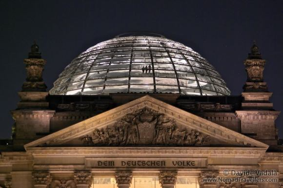 Transparent dome of the Reichstag