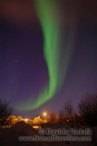Northern Lights in Kiruna, Lapland (Sweden)