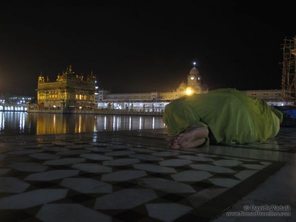 Sleeping in the Golden Temple, Amristar