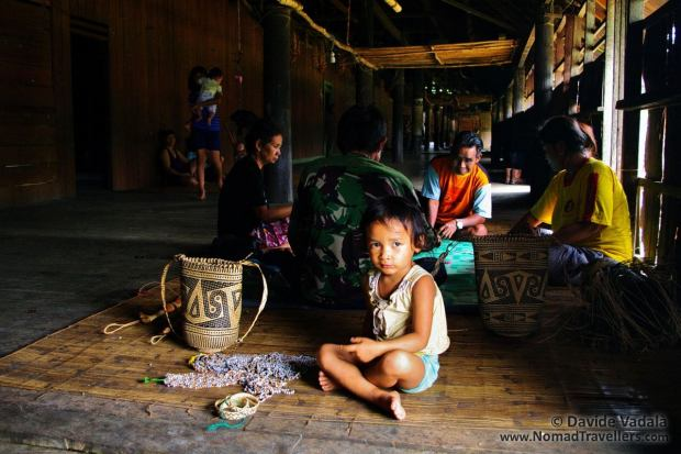 Daily life in the Dayak Longhouse of Eheng