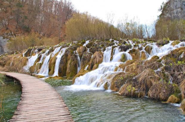 One of the waterfalls in the Lower part