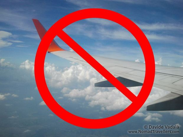 Flights cause a lot of harmful emissions