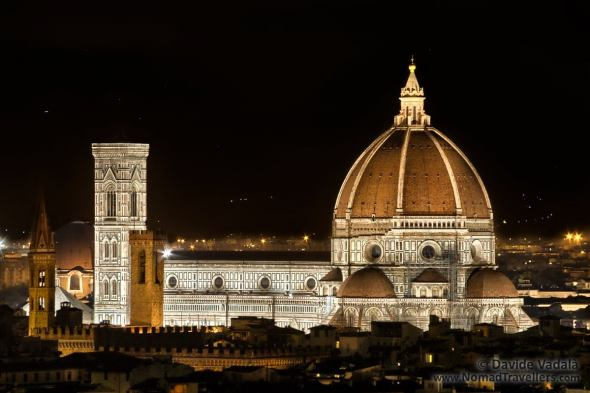 Night view of Florence Cathedral