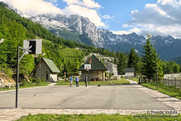 Touristic services available in Valbona